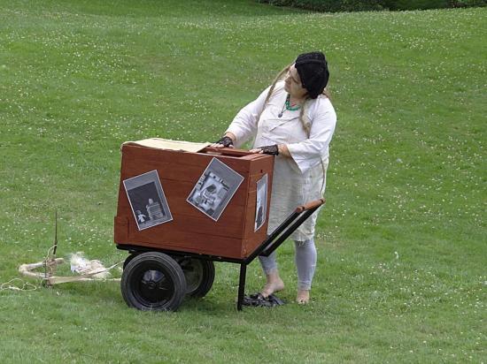 Le Petit théâtre végétal aux Olfacties