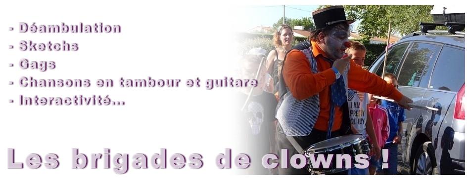 Infos brigades de clowns
